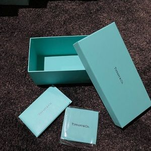Tiffany & Co. Glasses Box and Cleaning Cloth